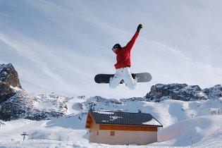 Snowboard, zima